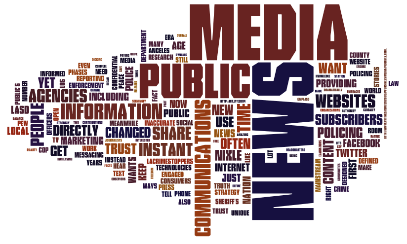 new media old media policing needs to get busy in the news media