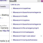 Social Media Quick Tip: Organize Your Twitter Stream