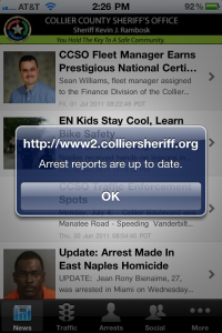law enforcement iphone app