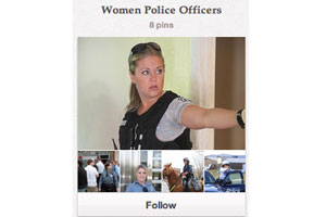 """Cover image for Kansas City PD """"Women Police Officers"""" Pinterest Board"""