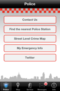 City of London, UK Police launches smartphone app
