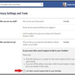 Changes to hiding from public search on Facebook