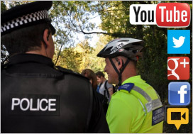 Police use social media to communicate directly with citizens